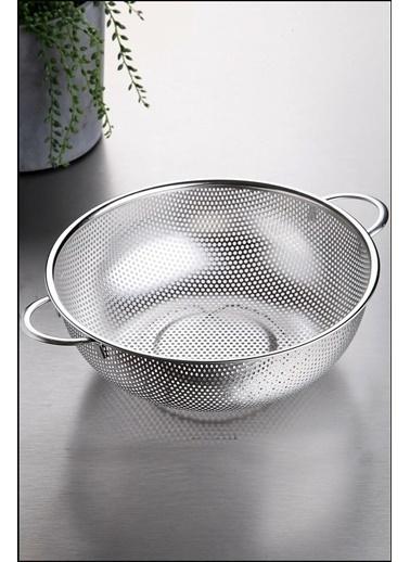 Kitchen Love Paslanmaz Çelik 25,5x9,5Cm Lux  Kulplu Yuvarlak  S Renkli
